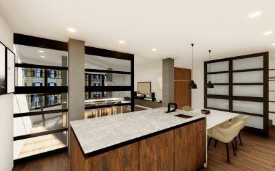Ventajas de unir salón y cocina